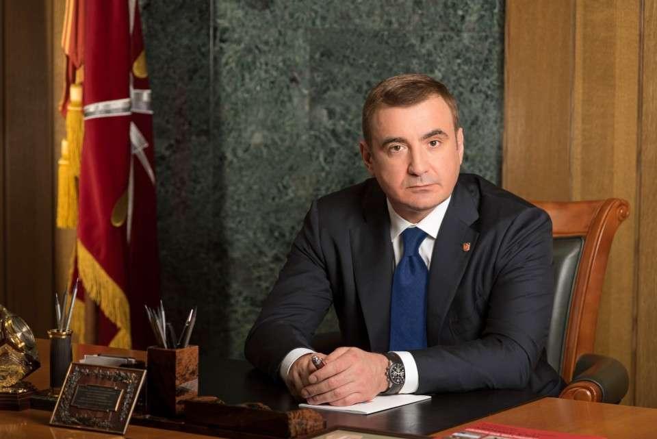 Поздравление Губернатора Тульской области Алексея Дюмина с Днем строителя