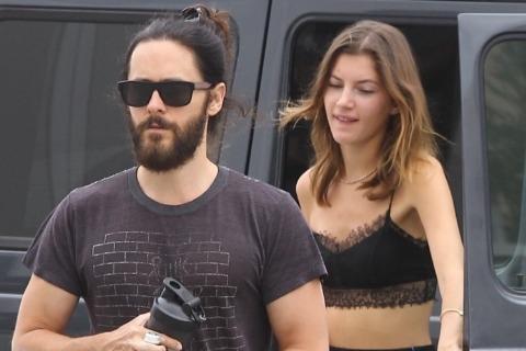 Джаред Лето и Валерия Кауфман провели выходной в центре скалолазания в Лос-Анджелесе