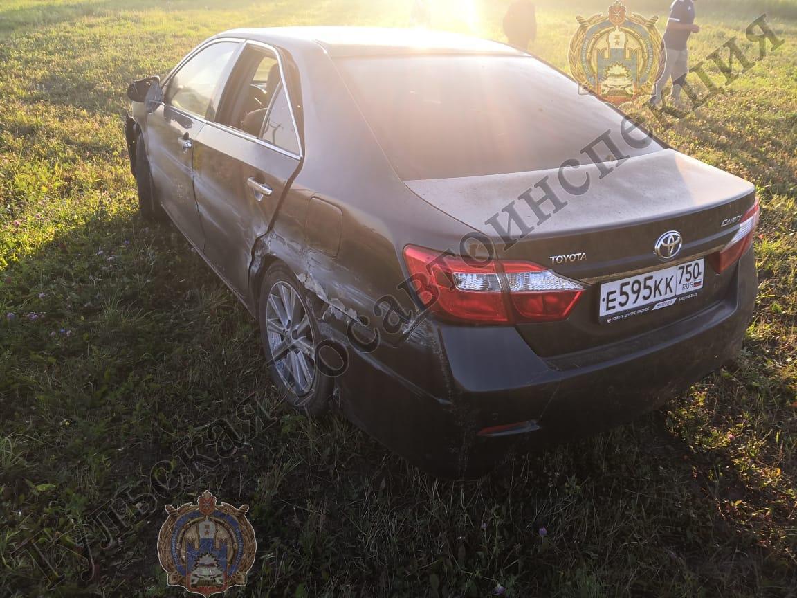 В Богородицком районе в ДТП пострадал ребенок
