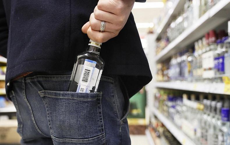 Житель Кимовска украл две бутылки водки из «Пятерочки»