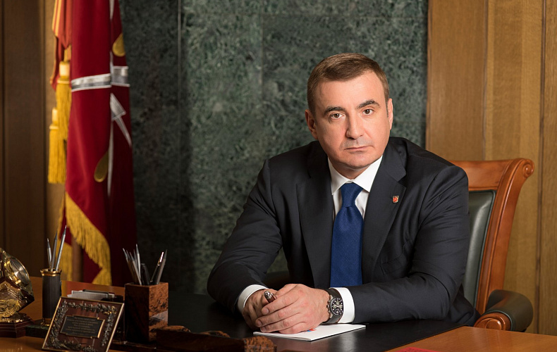 Алексей Дюмин – полицейским: Всегда возвращайтесь с заданий к своим родным и близким