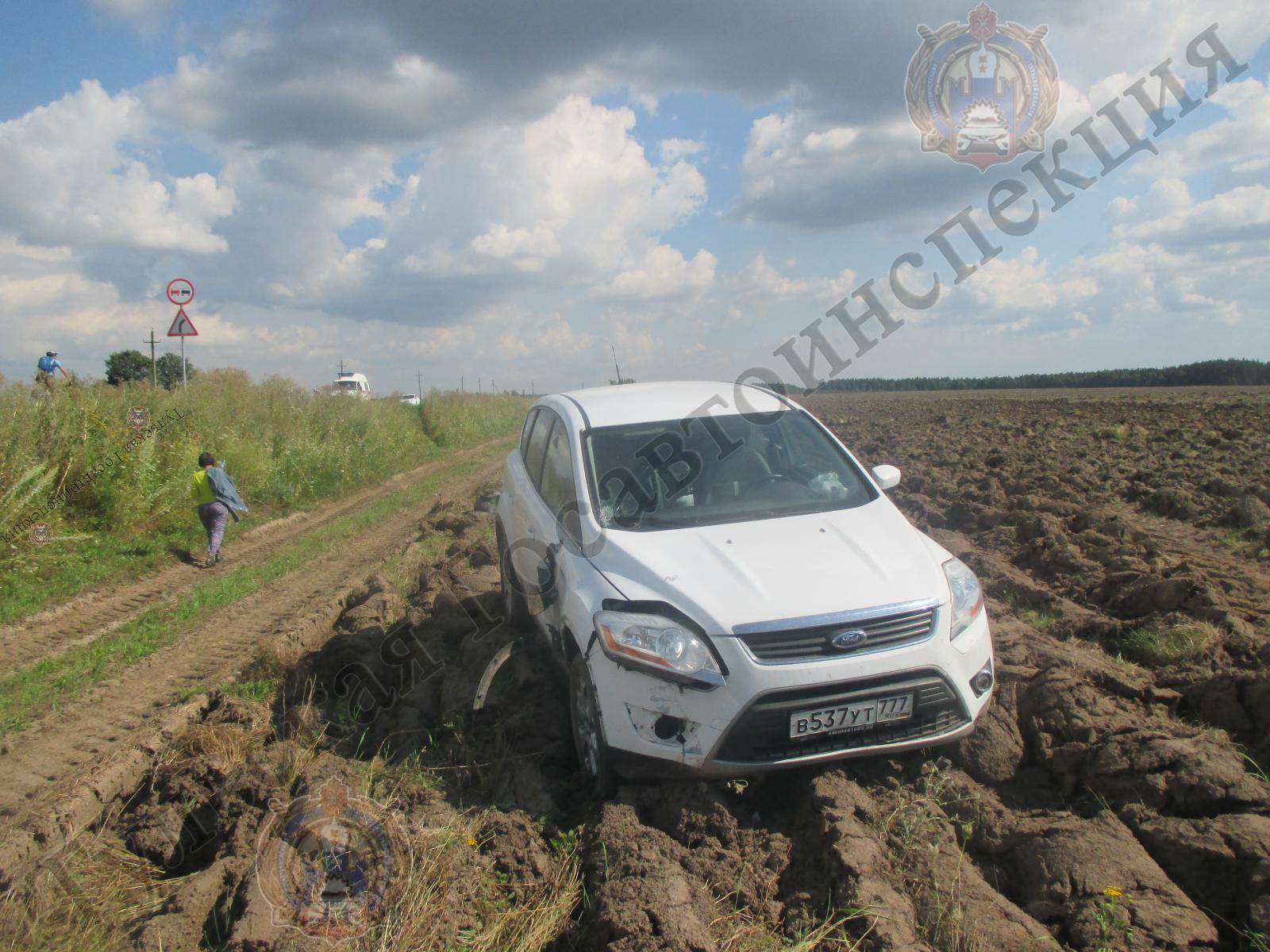 В Ясногорском районе 59-летняя женщина сбила подростка