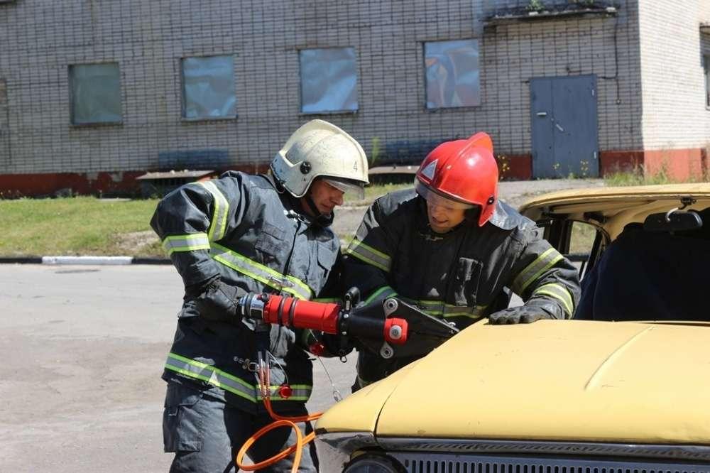 Щекинские спасатели - призеры областных соревнований