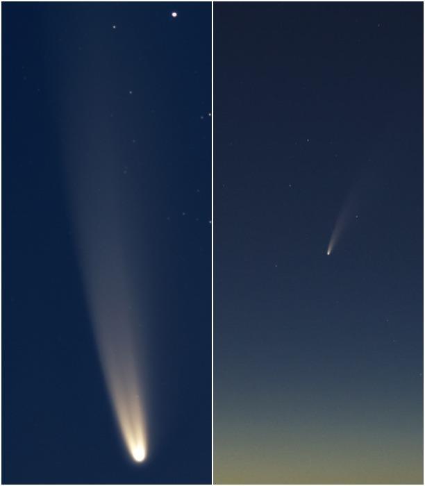 Туляки наблюдают за яркой кометой NEOWISE