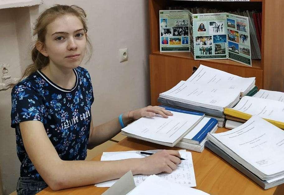 Старшеклассница Ломинцевской школы - призер всероссийского конкурса