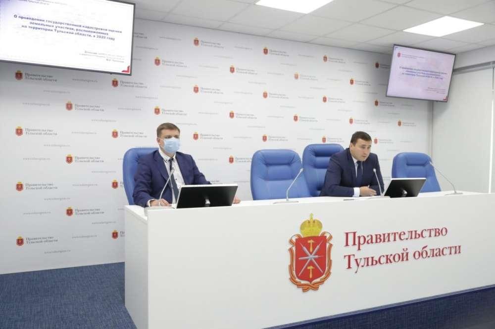 В Тульской области проведена новая кадастровая оценка земельных участков