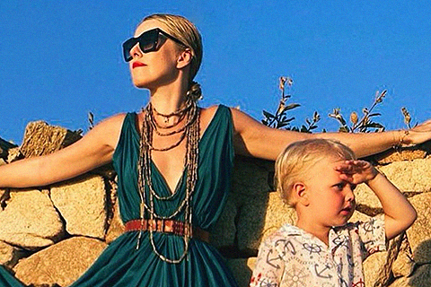 Ксения Собчак рассказала об отдыхе с сыном Платоном