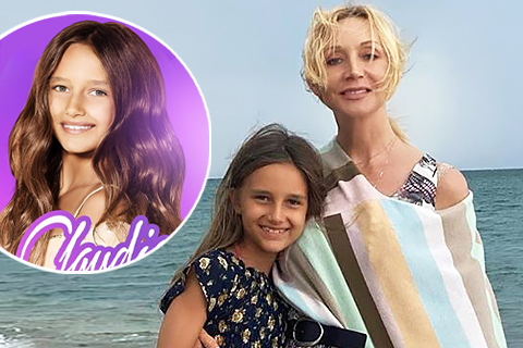 Восьмилетняя дочь Кристины Орбакайте записала песню на испанском языке