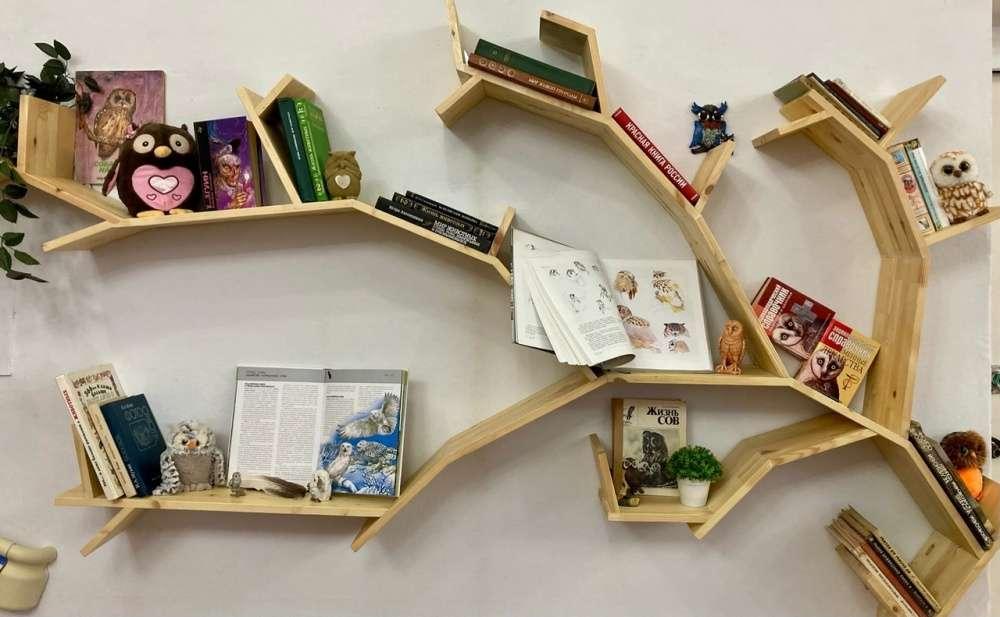 В щекинской библиотеке открылась книжная выставка о совах