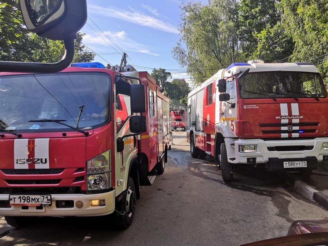 При пожаре на ул. Серебровской в Туле погибли три человека