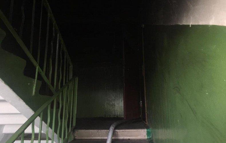 Причиной пожара на Серебровской в Туле может быть поджог