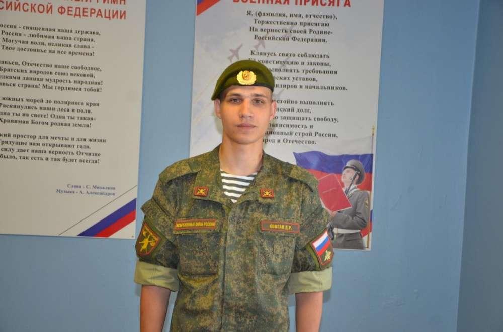 Щекинец Дмитрий Ковган служил в Семеновском полку