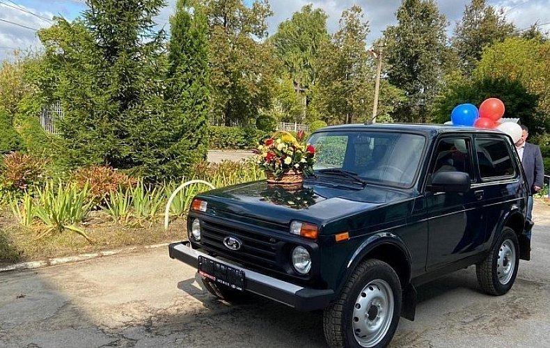 Тульской городской больнице №3 подарили легковой автомобиль