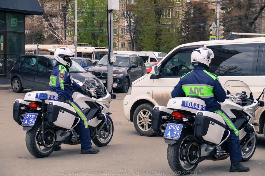 Тульская Госавтоинспекция ищет очевидцев двух ДТП