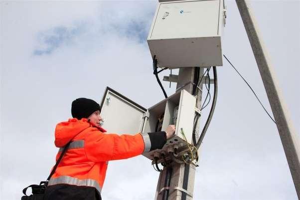 В частные дома Щекинского района приходит проводной интернет
