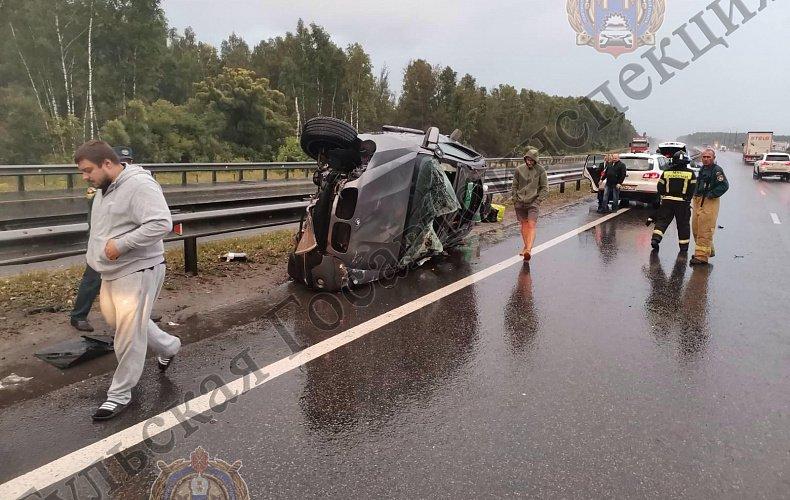 Три человека пострадали при ДТП с «BMW X5» в Тульской области