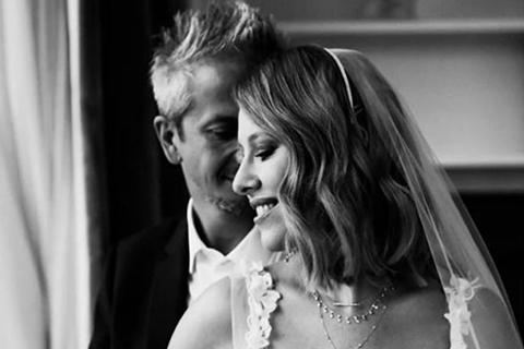Ксения Собчак и Константин Богомолов трогательно поздравили друг друга с годовщиной свадьбы