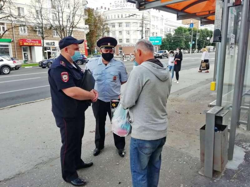 За сутки сотрудники полиции составили 134 протокола за нарушение «масочного режима»