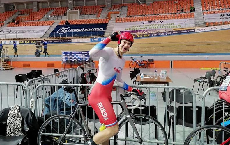 Алексей Дюмин поздравил велосипедистов из Тулы с медалями Чемпионата Европы