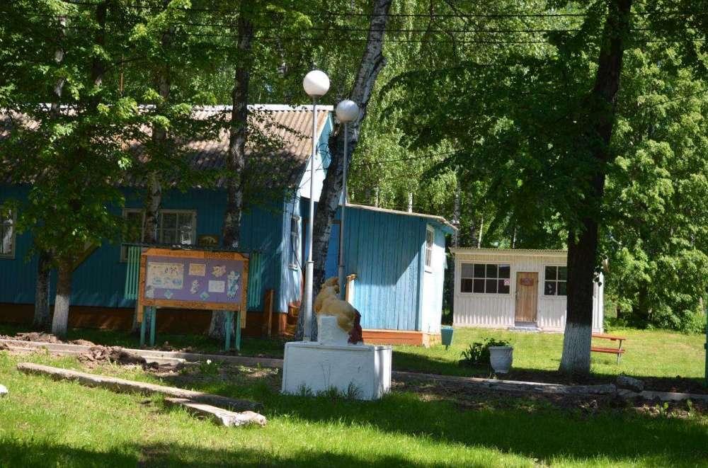 В Щекинском районе идет ремонт в лагере имени Олега Кошевого