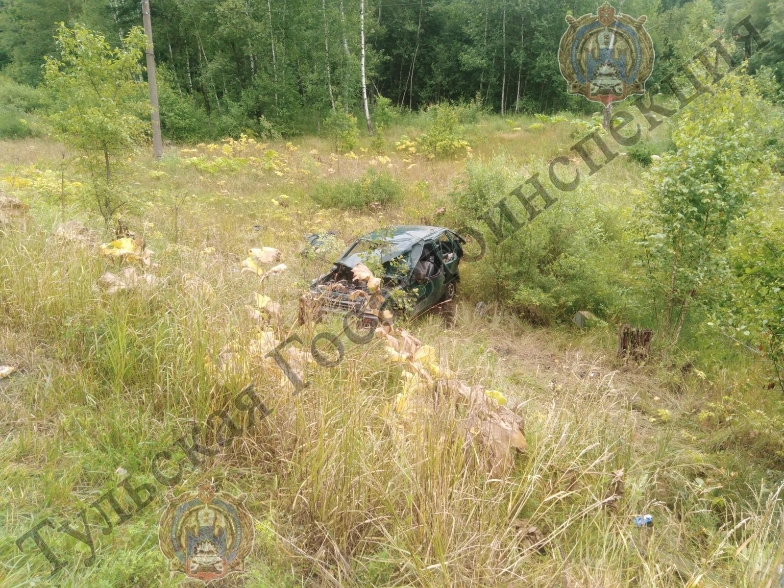 В Заокском районе 4 человека пострадали в ДТП