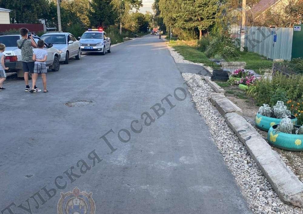 В Щекино в ДТП пострадал ребенок