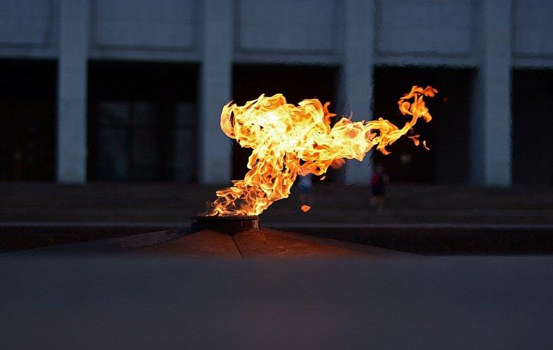 Частица Вечного огня из Александровского сада Москвы передана в Тулу