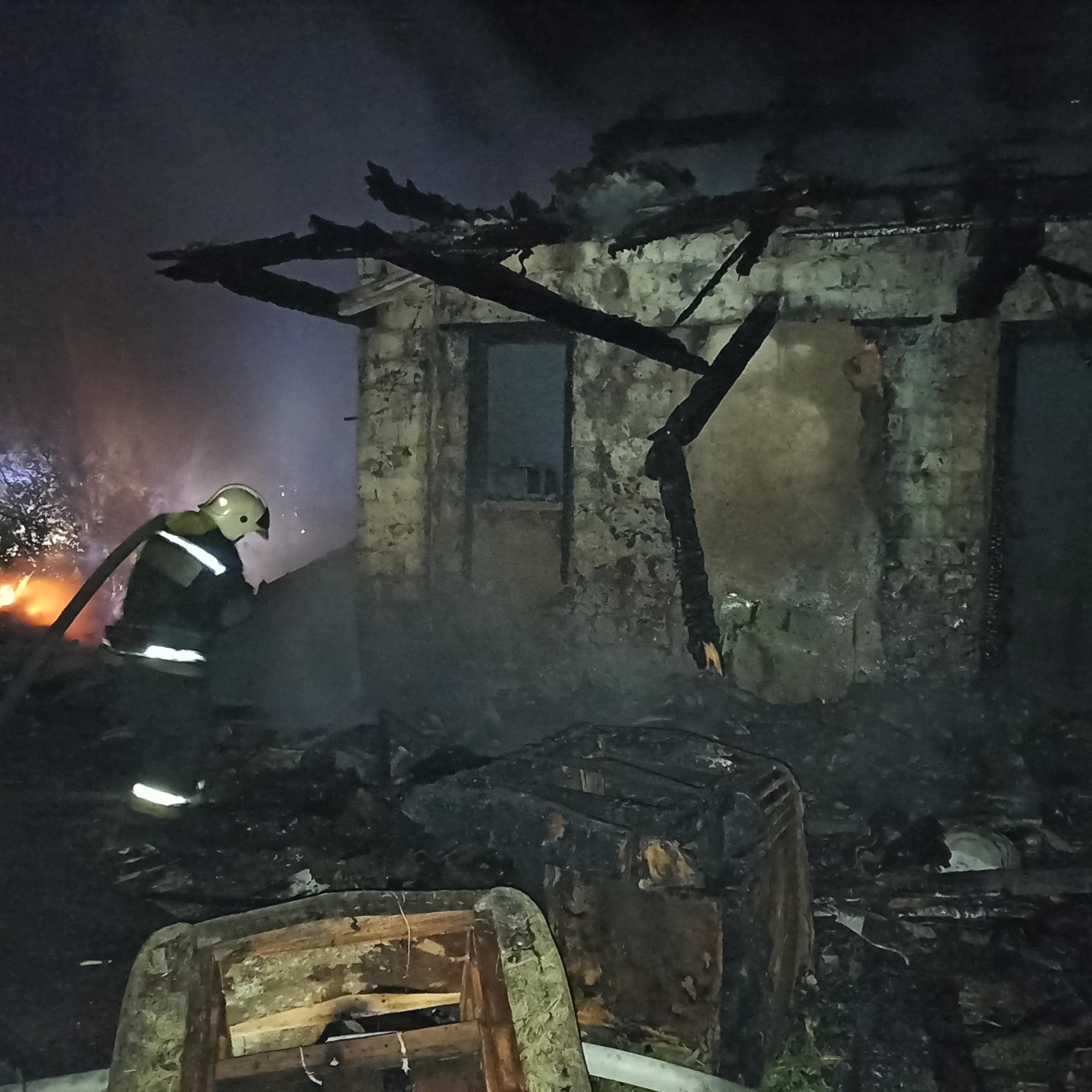В Туле в пожаре пострадал человек