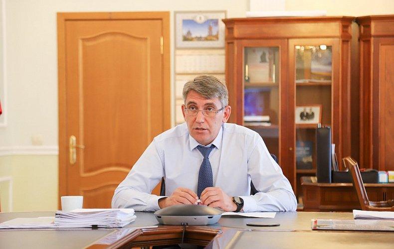 Глава администрации Тулы поздравил лауреатов конкурса «Золотой Меркурий-2020»