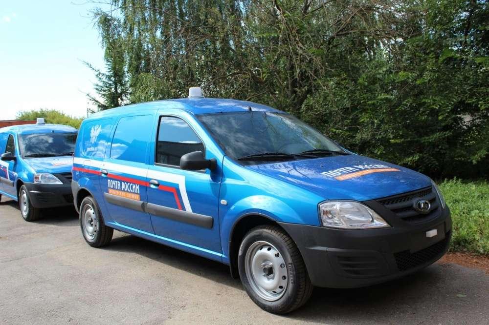 Автопарк Почты России в Тульской области пополнили шесть новых фургонов
