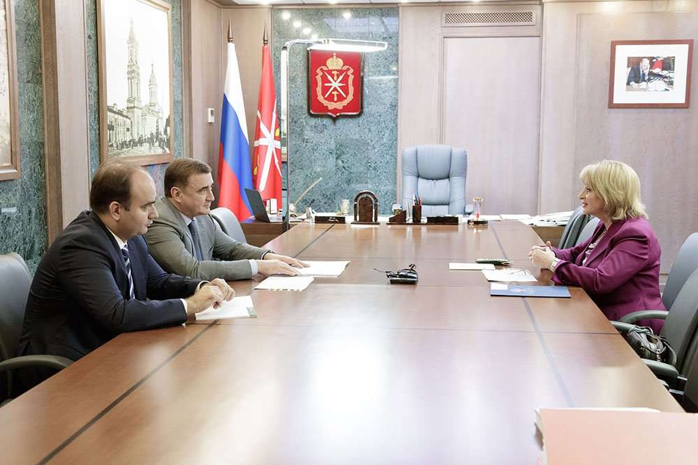 Алексей Дюмин обсудил с Аллой Маниловой подготовку к 500-летию Тульского кремля