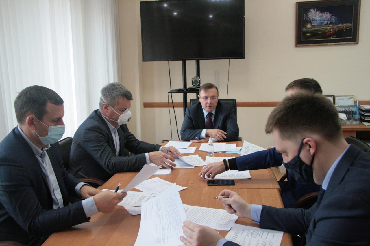 Павел Веселов обсудил с политическими партиями вопросы формирования новых территориальных избирательных комиссий