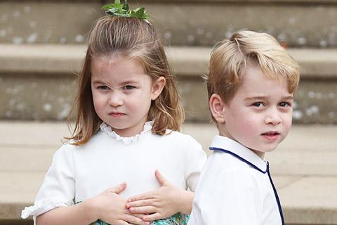 Принцы Джордж и Луи и принцесса Шарлотта поздравили королеву Елизавету II и принца Филиппа с 73-й годовщиной свадьбы