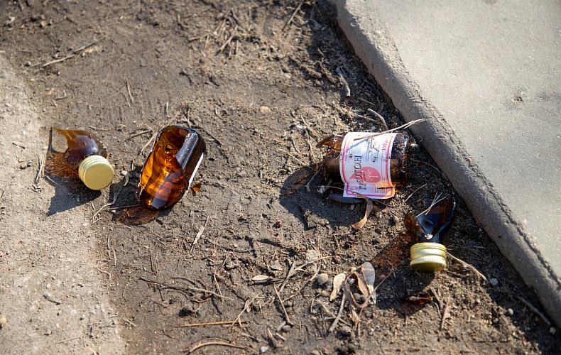 Тулякам назначали общественные работы за распитие алкоголя
