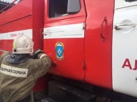 Человек погиб при пожаре в Плавске