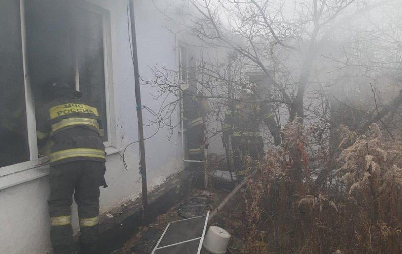 В Щекинском районе в пожаре погиб человек
