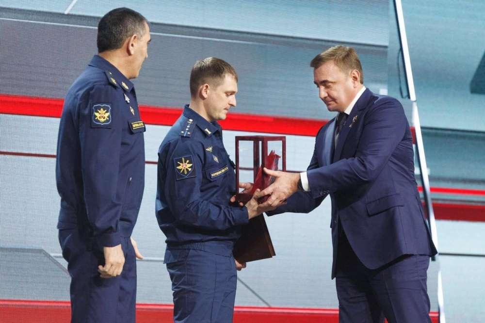 Алексей Дюмин принял участие в награждении победителей фестиваля «Армия России-2020»