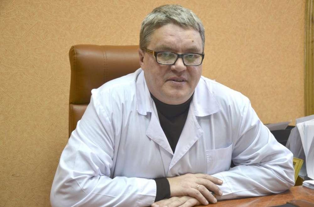 Главврач Щёкинской районной больницы Алексей Анисочкин награжден медалью