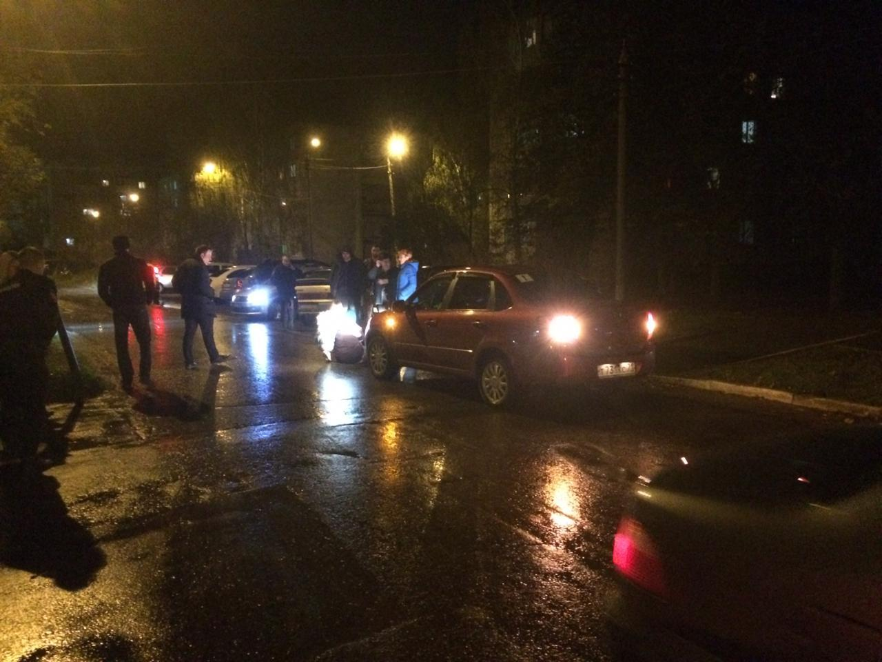В Щёкинском районе девушка сбила пенсионерку на пешеходном переходе