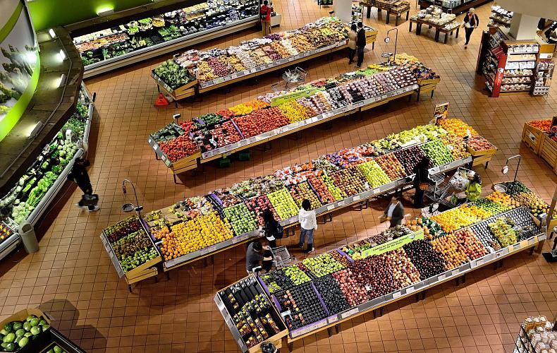 Туляк украл продукты из двух супермаркетов за полчаса