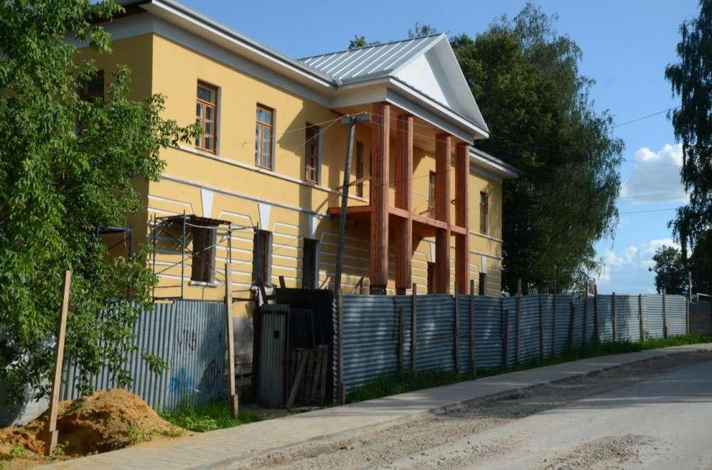 Музей Земства в Крапивне готовится к открытию