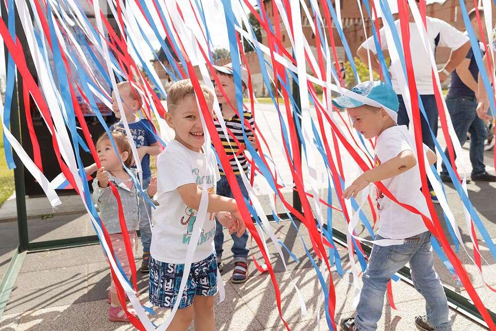 В Туле отмечают День флага