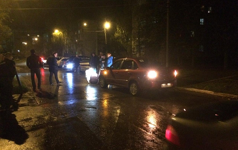 В Щекинском районе в ДТП попала 88-летняя пенсионерка