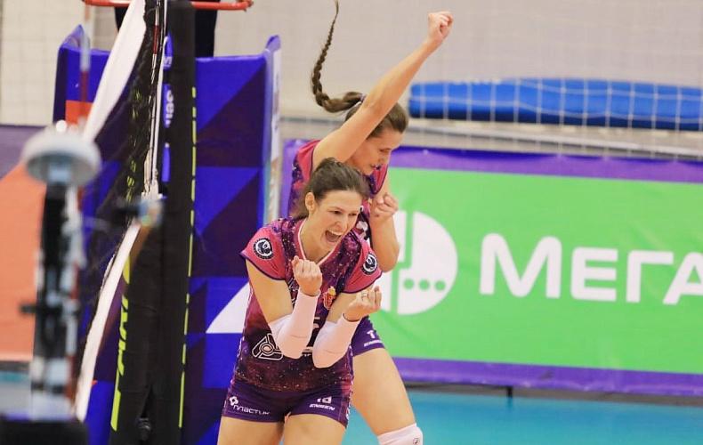 Алексей Дюмин поздравил волейбольную «Тулицу» с первой победой в сезоне