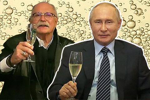По душам и не очень: онлайн-встреча Путина и Михалкова, финальные дебаты в США и обнаженный торс Джареда Лето