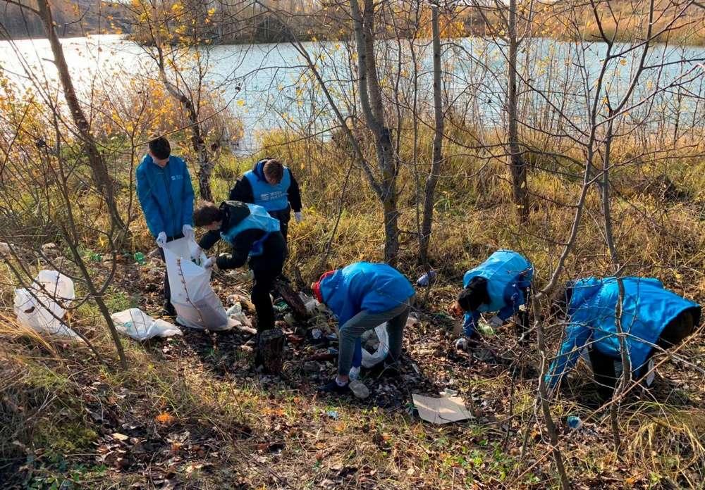 Всероссийская акция «Вода России» завершилась на берегах озер в Кондуках