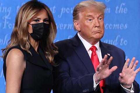 В сети обсуждают неприязнь Мелании Трамп в отношении мужа