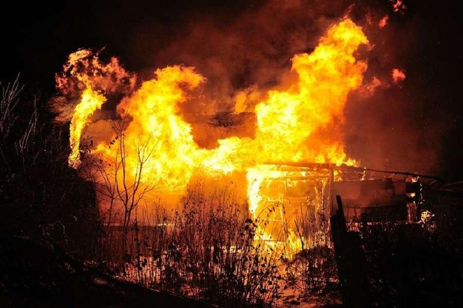 Пожар в Щекинском районе потушен