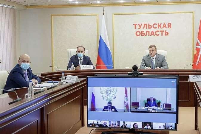Алексей Дюмин принял участие в заседании рабочей группы Госсовета «Экономика и финансы»