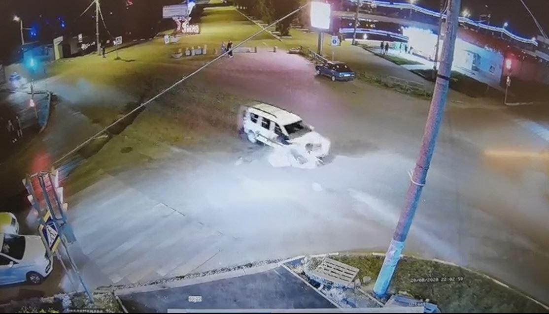 Авария с участием подростка на скутере и Lada в Узловой попала на запись регистратора